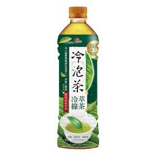 【光泉】冷泡茶-冷萃綠茶585ml*24瓶