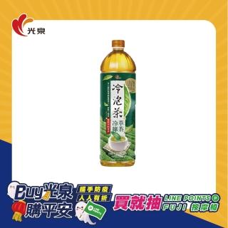 【光泉】冷泡茶-冷萃綠茶1235ml*12瓶