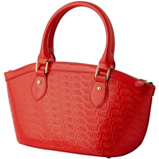 【Folli Follie】亮皮手提包(紅)