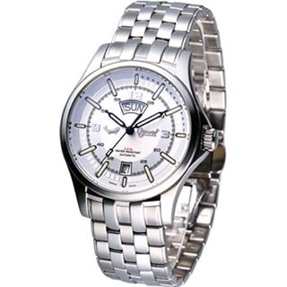 【Ogival】夜鷹系列 時尚機械腕錶(829-02AMS)