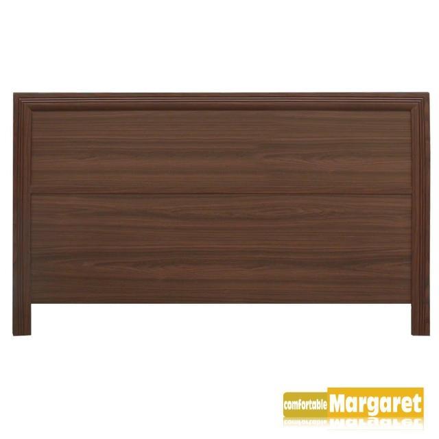 【Margaret】極簡條飾木質床頭片-雙人5呎