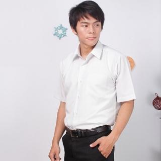 【JIA HUEI】短袖男仕吸濕排汗襯衫 3158系列 灰色細條紋 (台灣製造)