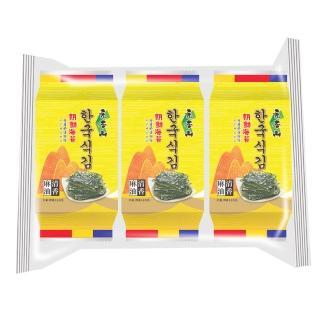 【元本山】朝鮮海苔(10枚3包)