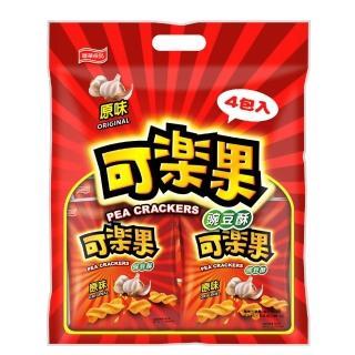 【【即期】可樂果】原味-量販包(57Gx4包)