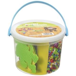 《Perler 拼拼豆豆》叢林樂園 6000 顆拼豆組合桶