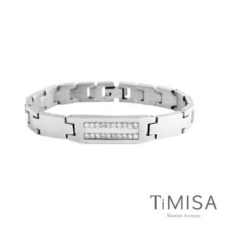 【TiMISA】永恆真愛-寬版 純鈦鍺手鍊