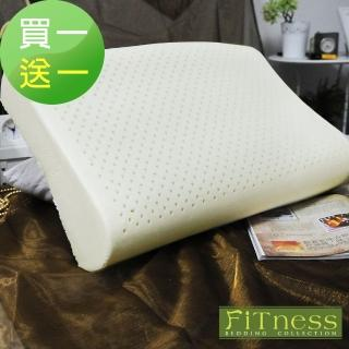 【FiTness 飛黎氏】人體工學釋壓透氣乳膠枕