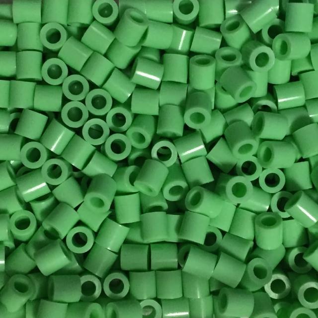 《Perler 拼拼豆豆》1000顆單色補充包-53粉綠色