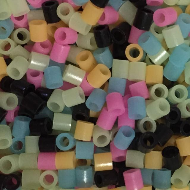 《Perler 拼拼豆豆》1000顆混色補充包-67夜光色系