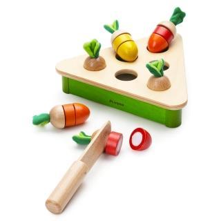 PlayMe拔蘿蔔對對樂:)顏色配對記憶與扮演玩具
