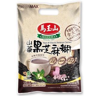 【馬玉山】山藥黑芝麻糊-30g x 12入(100%全天然)