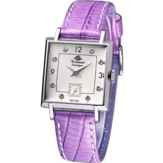 【Rosemont】戀舊系列 魅力腕錶(TN004-SW-BVI紫羅蘭色)