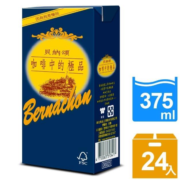 【貝納頌】咖啡調味乳375ml(24入/箱)