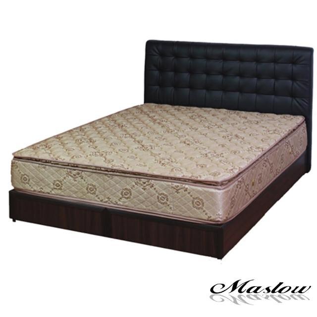 (Maslow-時尚格調)加大床組-6尺(不含床墊)-黑