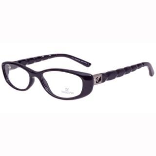 SWAROVSKI-時尚光學眼鏡(黑色)SW5018