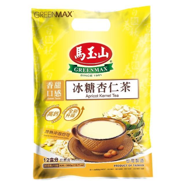 【馬玉山】冰糖杏仁茶(30g*12小包/袋)