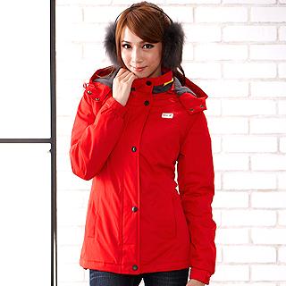 MIX.Z 女士防風防潑水內刷毛機能外套(M)