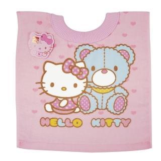 【HELLO KITTY】毛巾圍兜