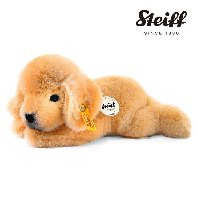 【STEIFF德國金耳釦泰迪熊】Golden Retriever Puppy Lumpi 黃金獵犬(動物王國)