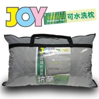 JOY竹炭纖維舖棉抗菌枕(單入)