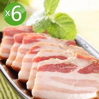 【台糖安心豚】五花臘肉6入組(400g/包)
