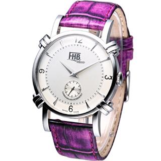 【Rosemont】FHB系列 简约时尚腕表(F101SW-PU 紫)
