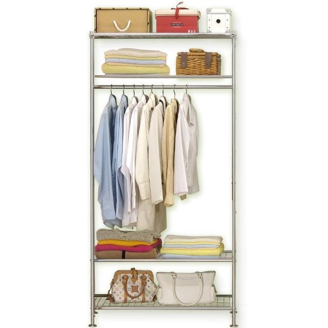 【巴塞隆納】WP4型90公分衣櫥架(無防塵)