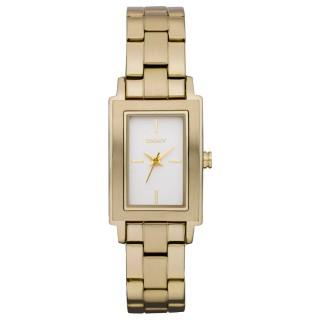【DKNY】時尚名媛都會腕錶(鋼帶-金 NY8282)