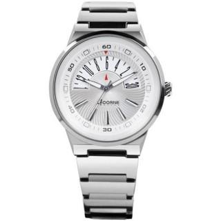 【LICORNE】開屏逆跳式日曆時尚腕錶(銀LI001MWWI)