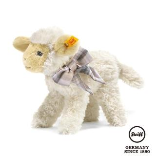【STEIFF德國金耳釦泰迪熊】Lamb Linda(嬰幼兒玩偶)