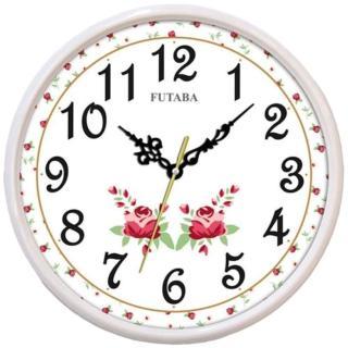 【FUTABA】幸福浪漫花卉掛鐘