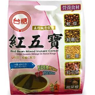 【台糖】紅五寶量販包(15包/袋;30g/包)