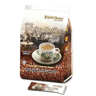 【金寶-馬來西亞暢銷品牌】白咖啡-特濃(40gx15小包)