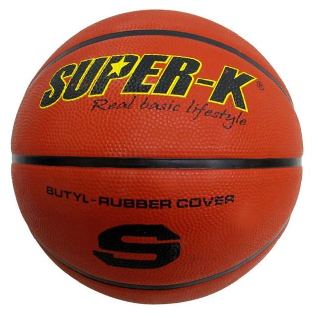 【酷博士】SUPER-K 七號橡膠深溝籃球SBCF702