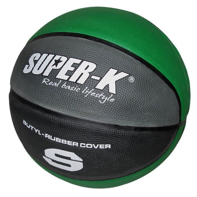 【酷博士】SUPER-K七號橡膠深溝籃球SBCF702B