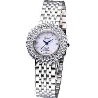 【Ogival】高雅薔薇 時尚腕錶(380-01DLS)