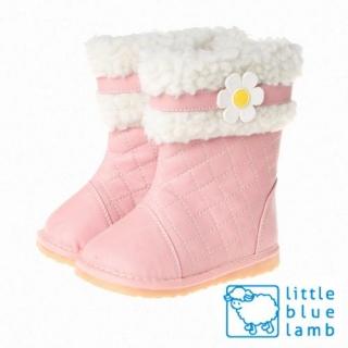 【小藍羊】littlebluelamb嗶嗶女童靴(粉紅甜心)