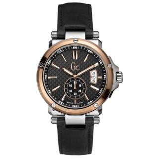 【Gc】橫埽千軍個性腕錶(黑金 GXX65009G2S)