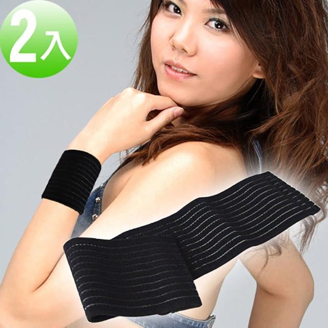 WEPON炭元素簡易式束護腕(超值2入組)
