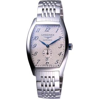 【LONGINES Evidenza】藝術酒桶型腕錶(L26424736)