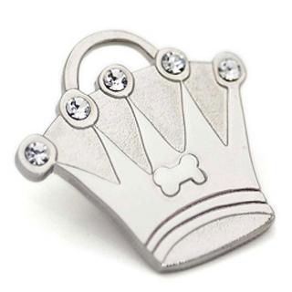 【Hamish McBeth】BlingBling水晶吊牌(皇冠/銀色)