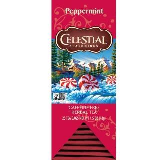【Celestial 詩尚草本】美國原裝進口 薄荷茶(25獨立包)