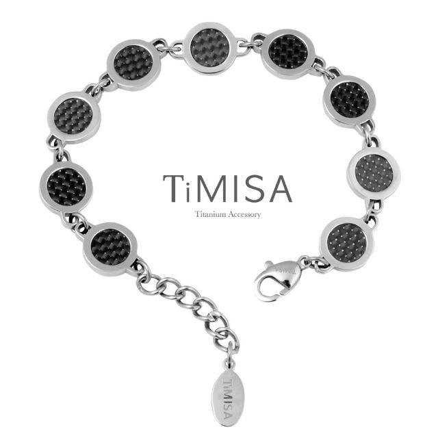 【TiMISA】仙履奇緣-黑 純鈦鍺手鍊