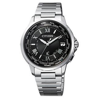 【CITIZEN】Xc 輕量率性光動能經典腕錶(銀黑 CB1020-54E)
