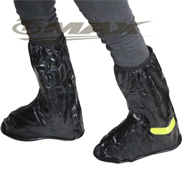 【天龍牌】反光塑膠雨鞋套-2雙