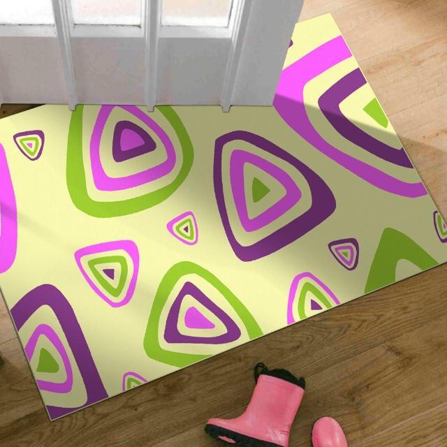 【范登伯格】奧斯汀光澤絲質感地毯-繽紛樂-共兩色(70x120cm)