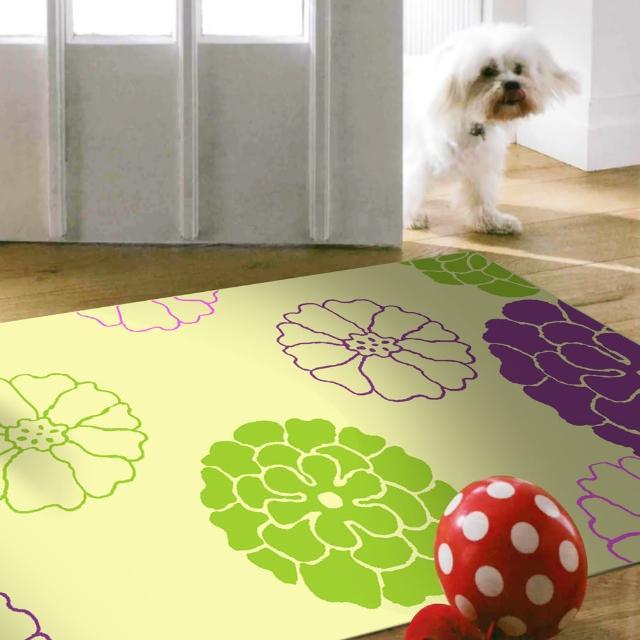【范登伯格】奧斯汀光澤絲質感地毯-巧思紫(70x120cm)