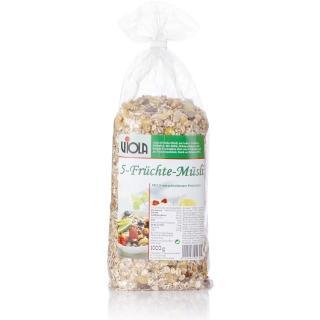 【VIOLA 麥維樂】德國綜合水果穀片(1000g)