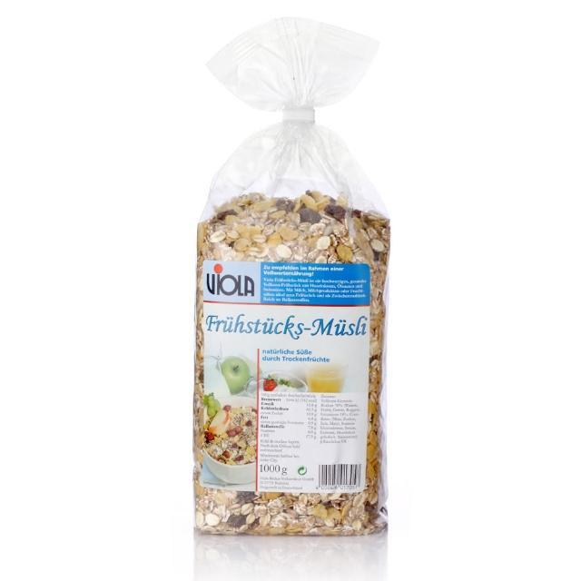 【VIOLA 麥維樂】德國早餐穀片-天然亞麻子添加(1000g)