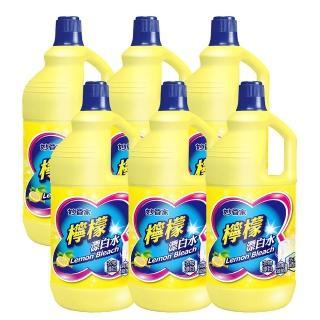 【妙管家】超強漂白水無磷檸檬味(2000gm/入-共6入/箱)